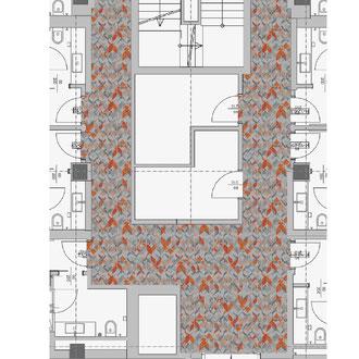 2) Nach einer Auswahl des Designs wird dieses bei Bedarf in einem Plan-Ausschnitt visualisiert.