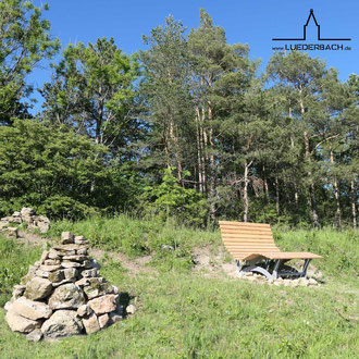 Waldsofa entlang des P21 Point India, sich niederlassen und die Natur genießen.