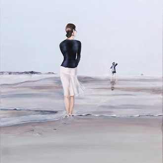 Sea-Serie: Windrauschen, 80 x 120 cm