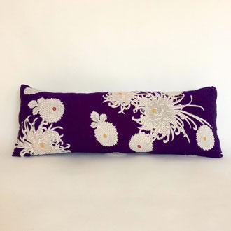 Kissen aus antiker, japanischer Kimonoseide