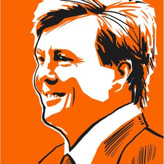Koning Willem Alexander, Dagblad van het Noorden