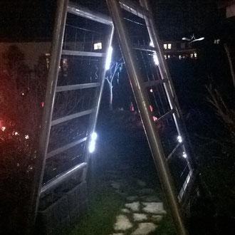Durchgang - Dekoidee Haus Garten Gartendekoration, Deko, Garten, Metall, Zink, Zinkkunst, Kunst aus Zink, Kunst aus Blech, Blechkunst