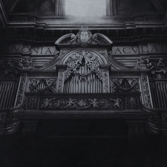 Sant'Andrea della Valle, Roma/2009/black color pencil on paper/575x762mm
