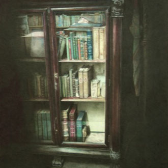 Strand Bookstore, N.Y./2005/color pencil on paper/383x288mm