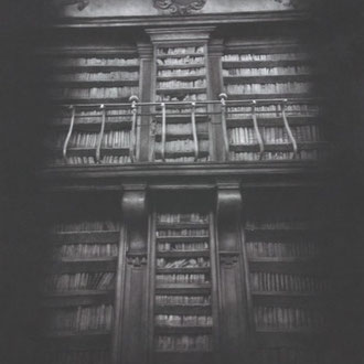 Biblioteca Casanatense/ 2008/ black color pencil on paper/ 573x445mm