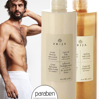 PRIJA BODYLOTION AND BATH CREAM
