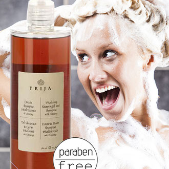 PRIJA SHOWER AND SHAMPOO