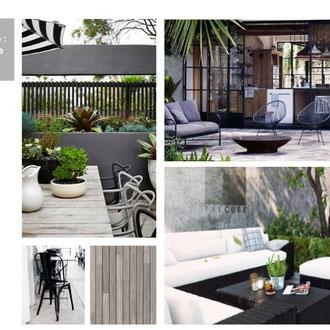 Planche de style - Restaurant Ile de la Réunion 974 - Design Agence Tohana