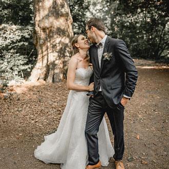 natürliche Hochzeitsbilder