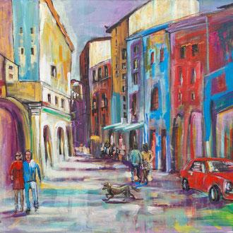Tuscany - 140 x 120