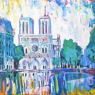 Notre Dame Paris - 120 x 100