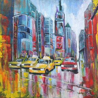 NYC Times Square II - 80 x 80
