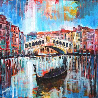 Venedig II - 140 x 120