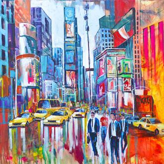 NYC Times Square III - 185 x 160