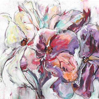 Flowers II - 80 x 60