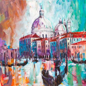 Venedig III - 140 x 120