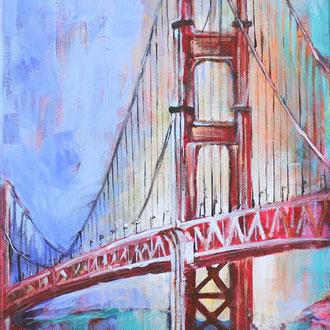 Golden Gate Bridge - 40 x 80