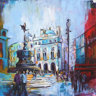 Piccadilly Circus - 100 x 100