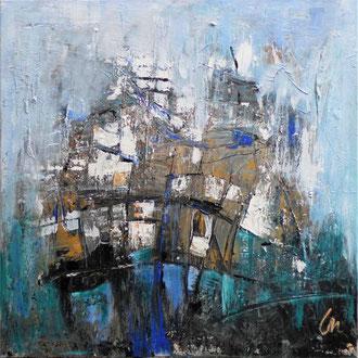 NY Abstrakt VIII - 100 x 100