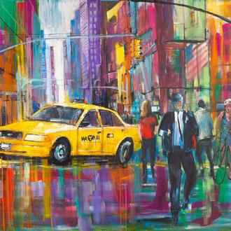 NYC Times Square IV - 185 x 140