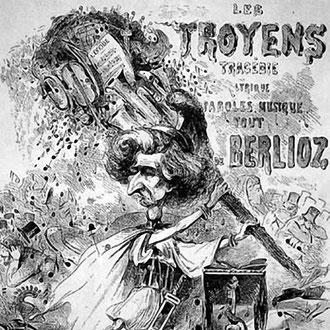 """Caricatura publicada en """"Journal amusant"""" el 28 de noviembre de 1863"""