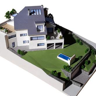 3D-Druck Bim Daten Architekturmodell