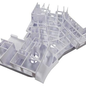 3D-gedruckte Tragwerkskonstruktion
