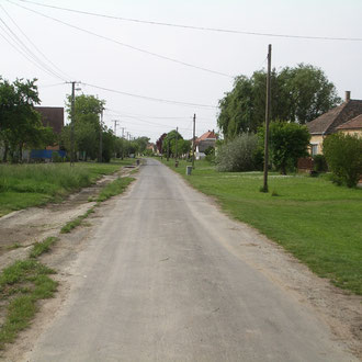 Unsere Dorfstraße Kossuth Utca