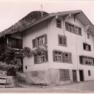 heute Wartstrasse 1, ca. 1930