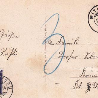 Postkarte 1914