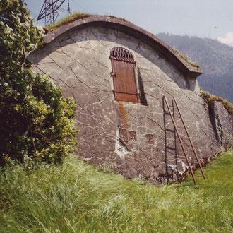 Wasserreservoir im Eggli