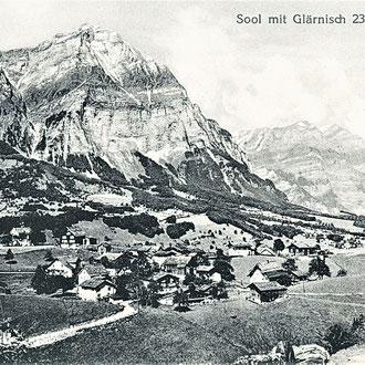 Schönwetter 1902 Postkarte