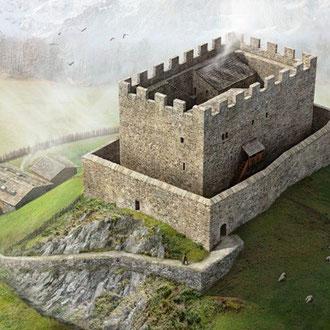 Burg Sola, Rekonstruktionsversuch von Joe Rohrer, 2010