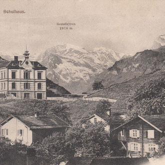 Postkarte 1914 (Bild ca. 1910)