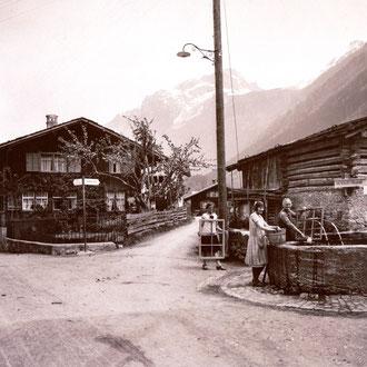 Dörfliplatz, ca. 1930