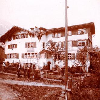 Gasthaus Adler mit Stange