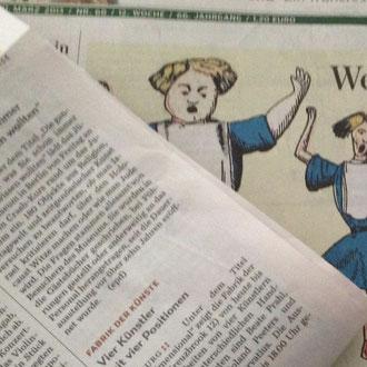 Unsere Ausstellung im Abendblatt