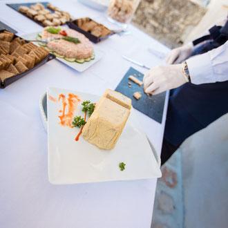 Les Coins Heureux wedding planner Paris et France organiser son cocktail et dîner de mariage : animation culinaire