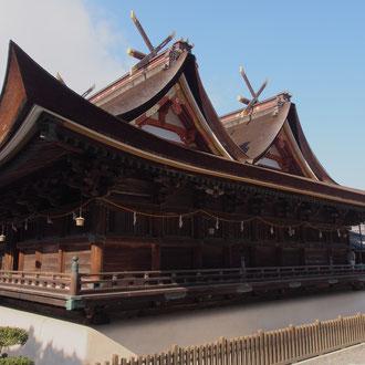 国宝吉備津神社本殿