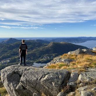 Tour auf den Løvstakken: Für Tim die schönste Wanderung in Bergen
