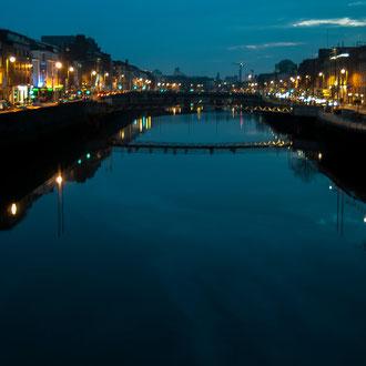 Dublin, Pont sur la Liffey