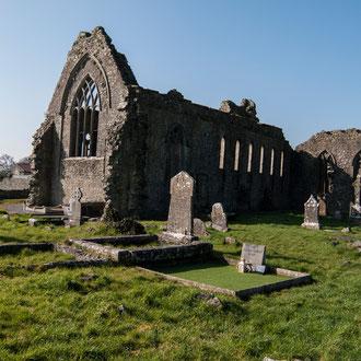 Irlande, Comté du Connemara, Athenry, Prieuré Dominicain du XI ème siècle