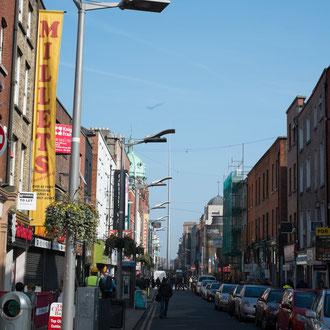 Dublin, quartier populaire pas loin de Jameson factory