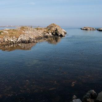 Irlande, Connemara, Lettermullen, baie de Galway