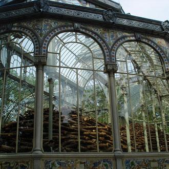 Espagne, Madrid, Parc Retiro, Palais de Cristal