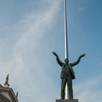 Dublin O'Connell Street, Statue de Jim Larkin