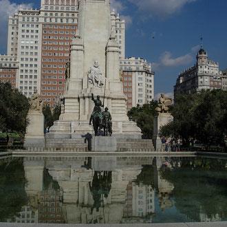 Espagne, Madrid, Bassin de Don Quichotte