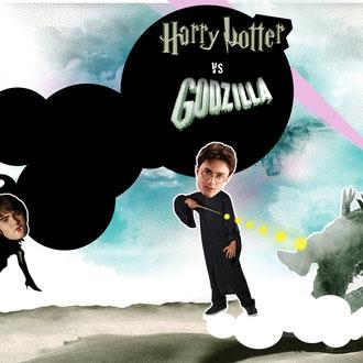 """""""Harry vs. Alec"""" Illustration für die Hannoversche Allgemeine Zeitung © Stefan Hoch"""