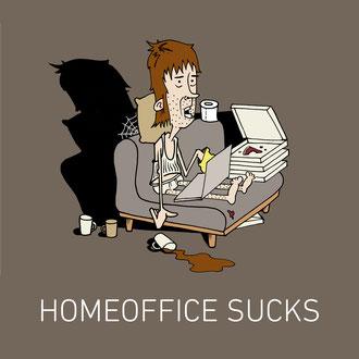"""""""homeoffice"""" Illustration für das RND © Stefan Hoch"""