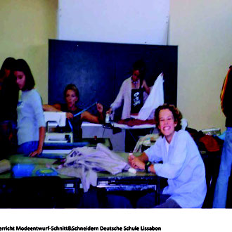 Dozentin für Kunst & Mode in der Deutschen Schule Lissabon & St. Julian´s School
